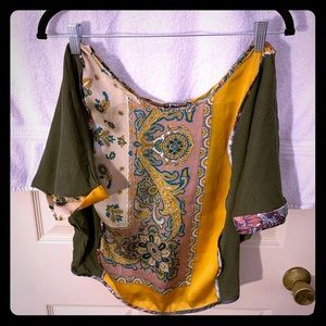 Anthropologie Tiny blouse amazing colors for fall